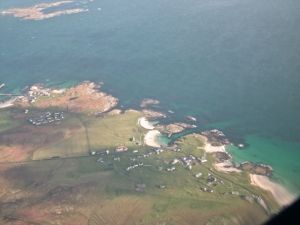 Scarinish from the air