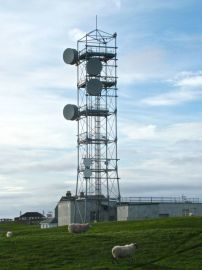 Photograph of relaytower