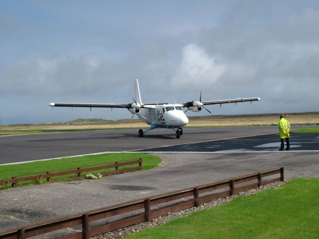 File:Cyclists entering Tiree Airport - geograph.org.uk - 1459992 ...