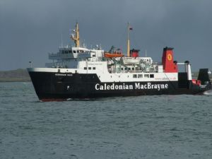 Photograph of MV Hebriden Isles