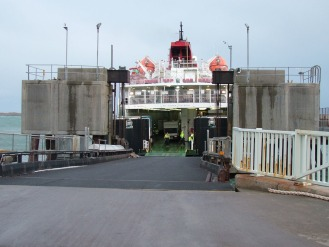 View from the Linkspan