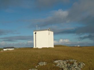 The lighthouse Scarinish