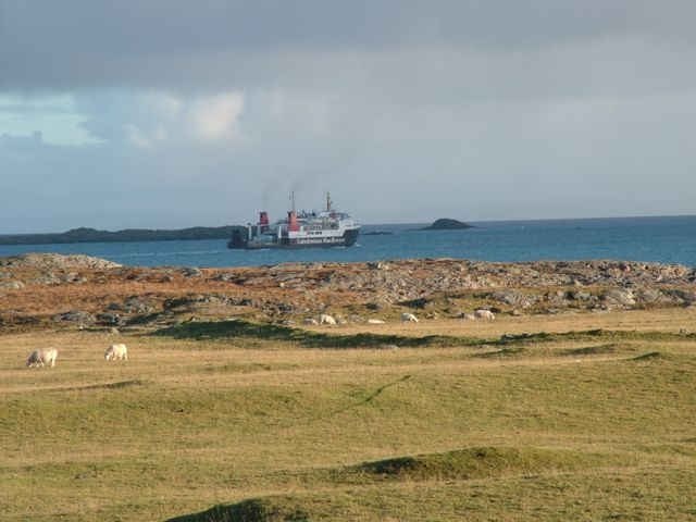 Hebridean Isles departing
