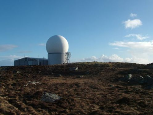 The Golf Ball, Radar Station