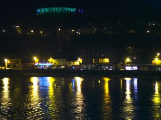 Taking our leave of Oban