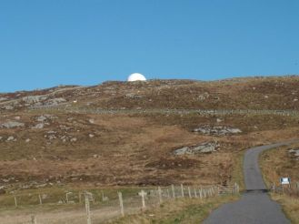 Not the Spring Moon, but Ben Hynish Radar Station