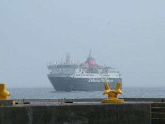 MV Isle of Mull In from the Fog