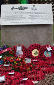 The Memorial and Wreaths