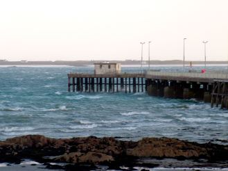 Pier and Wild Gott Bay