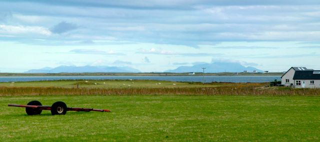 Where does Tiree end?