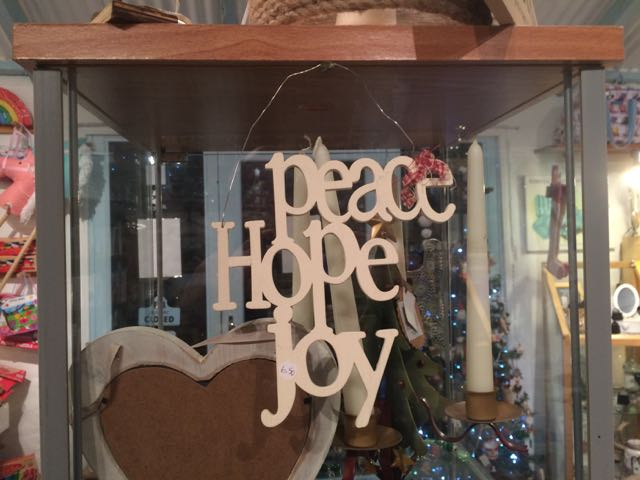 Hope, Joy, Peace
