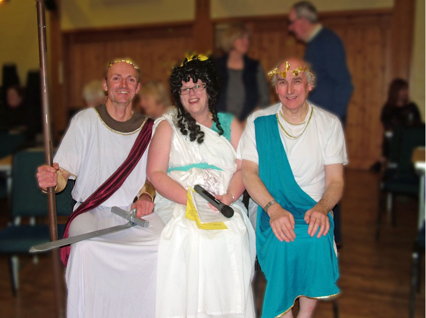 Photo of Toga Clad Trio