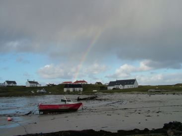 Rainbow over Scarinish