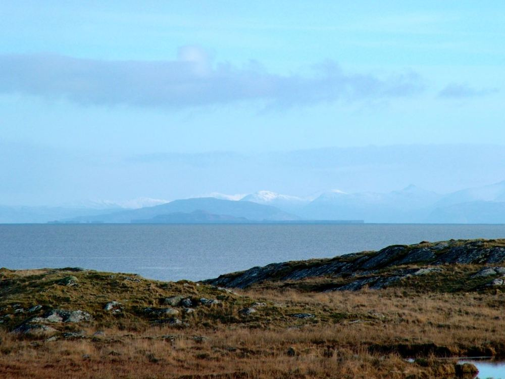 Looking towards Mull
