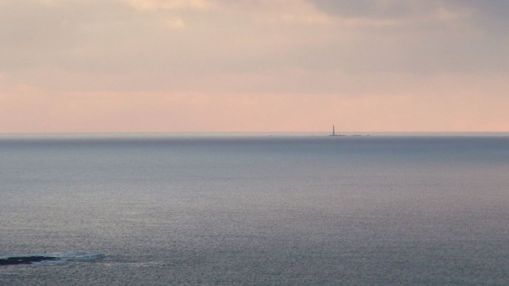 Skerryvore Lighthouse 11 miles South-West