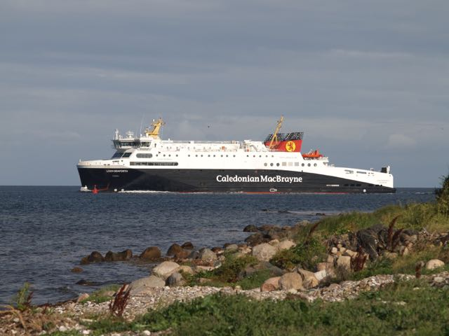 Copyright picture of the MV Loch Seaforth