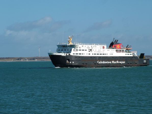 MV Hebrides, Gott Bay