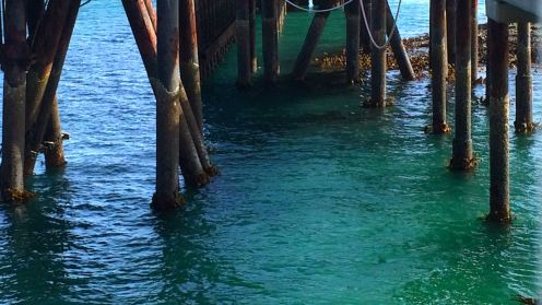 Low Tide at the Pier