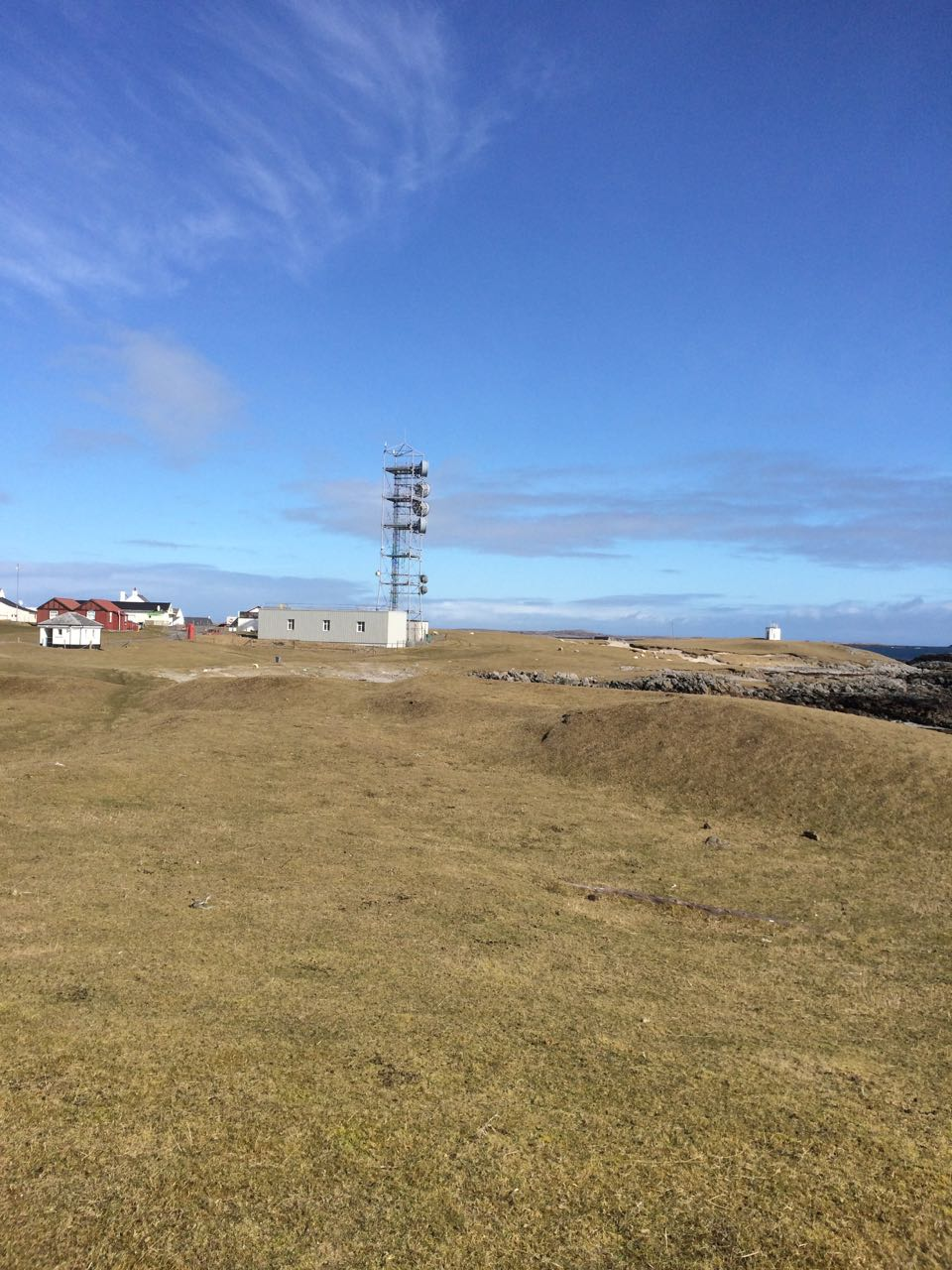 Blue Sky and The Post Office Tower, Scarinish