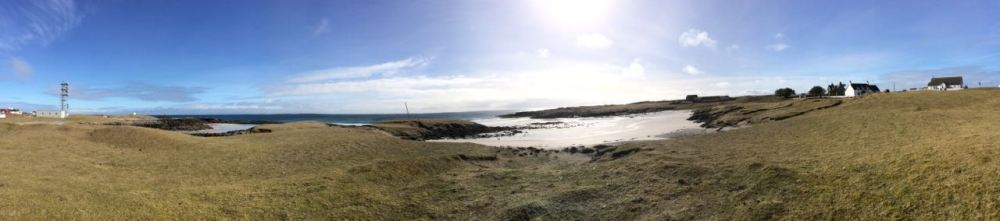 Post Clipse Panoramic View of Scarinish