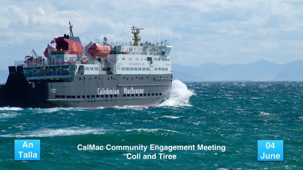 CalMac Community Engagement Meeting