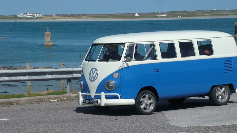 VW arriving on Tiree