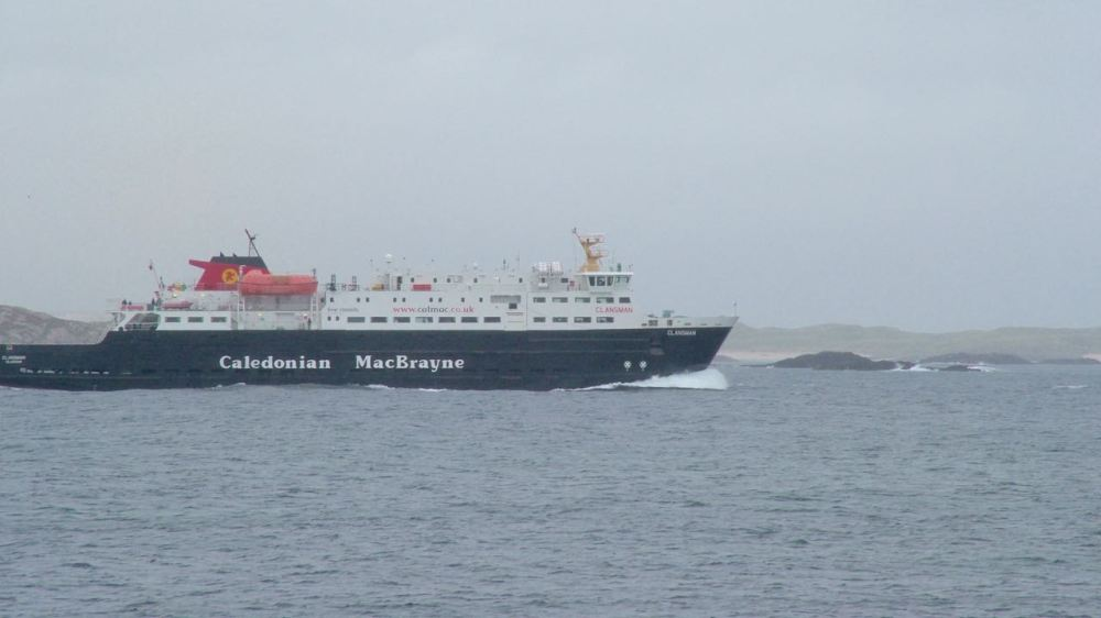 Photograph of the MV Clansman