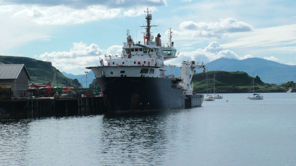 NLV Pharos at her base in Oban