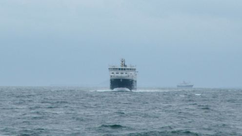 Both vessels appear in the Passage of Tiree