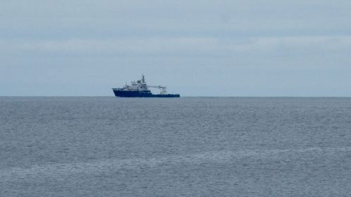 MV Pharos in the Passage of Tiree