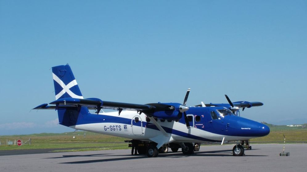Twin Otter on the Apron