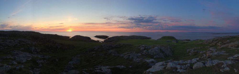 Panorama of the Hebrides
