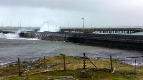 Stormy Conditions - Ferry Cancelled