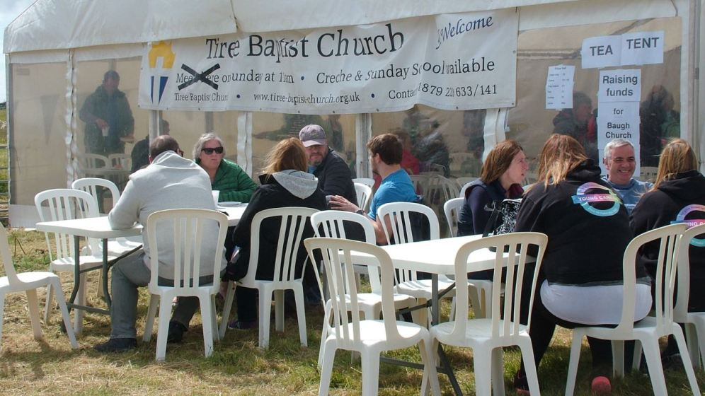 Tea Tent Tiree Show