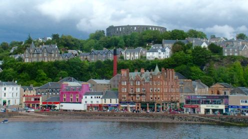 Oban Front and McCaig's Folly