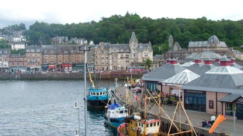 Pier and Caledonian Hotel