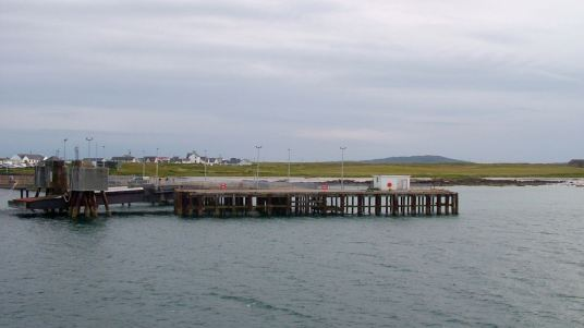 Tiree, Old Pier and Linkspan