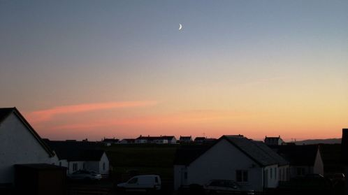 Moonshine over Scarinish