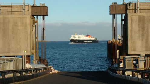 MV Clansman and Linkspan