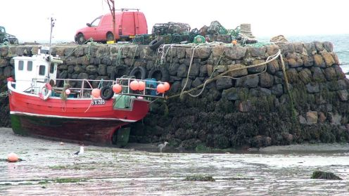 Low Tide Scarinish Harbour