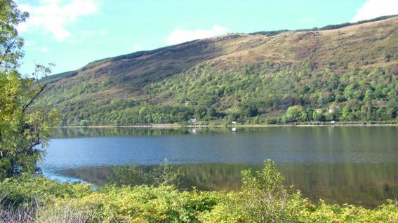 Loch View from Coach