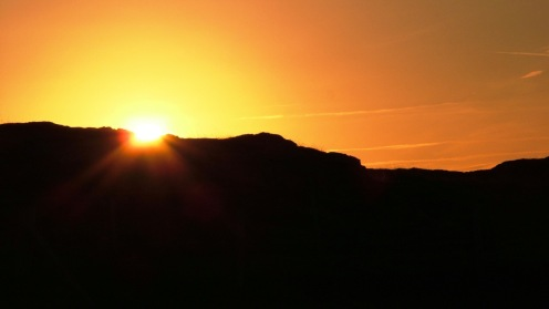 Sunrise on Scarinish Headland