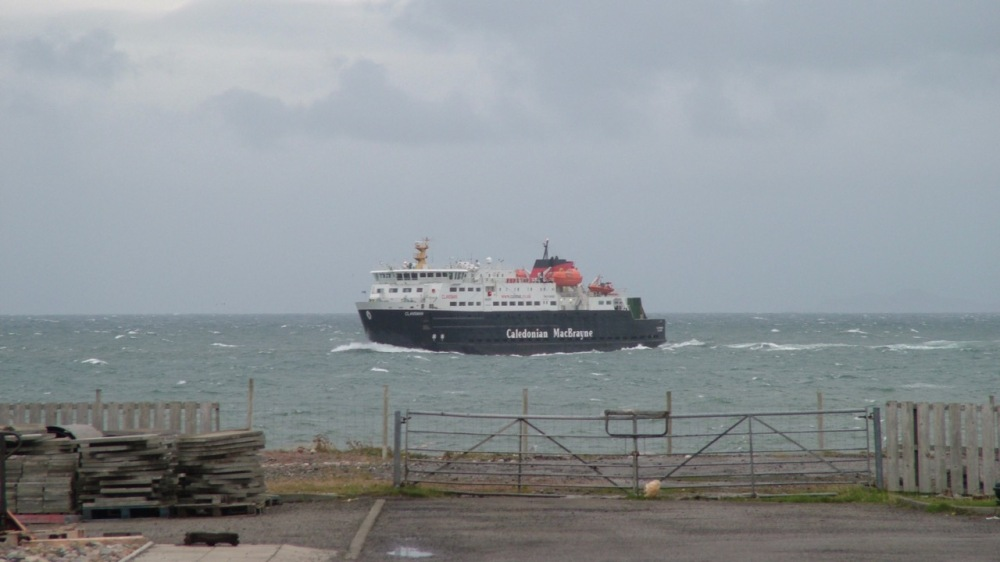 MV Clansman at Tiree