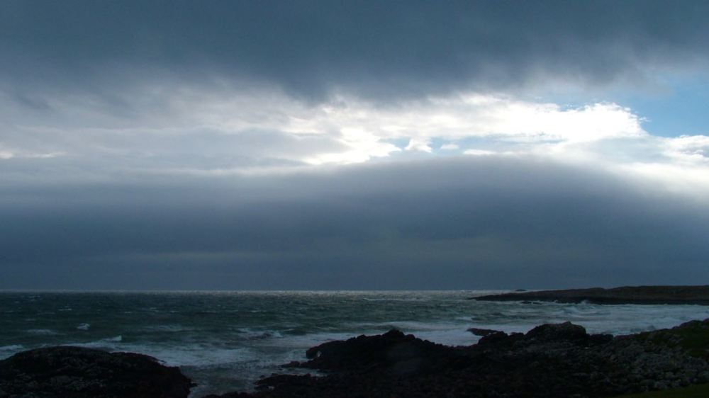 Stormy Sea and Skies