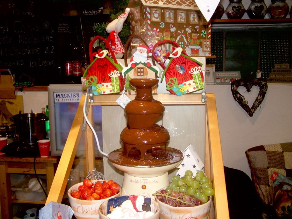Photo: The Chocolate Fountain