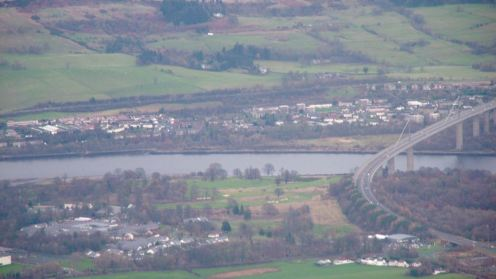 River Clyde and Erskine Bridge