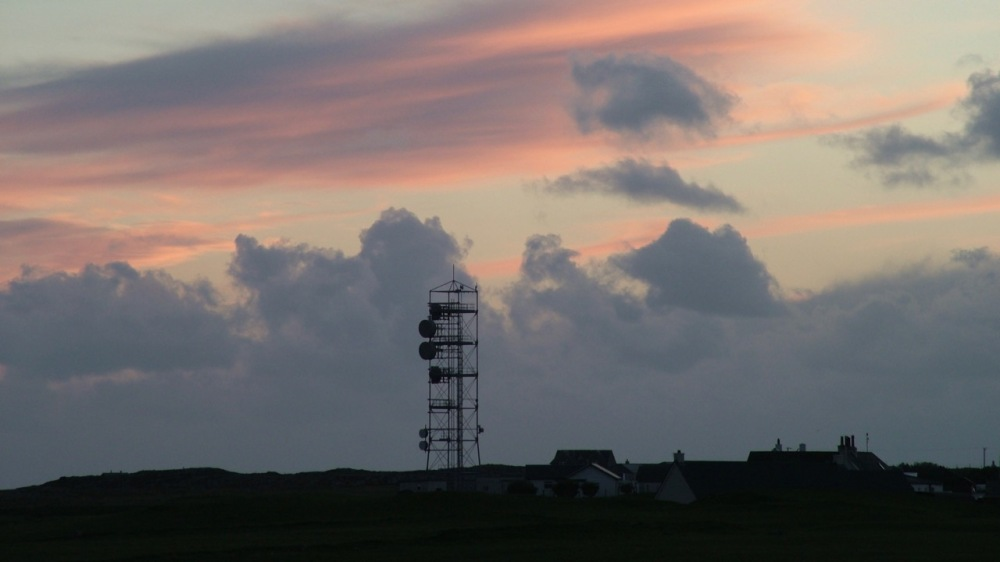 Scarinish Lighthouse and Communications Mast