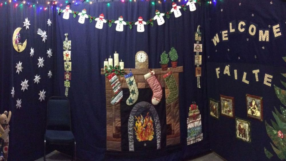 A Panoramic View of Santa's Grotto