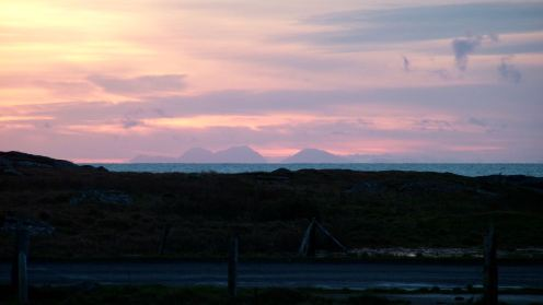 Sunday sunrise over Jura