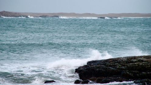 Looking across the Gunna Sound
